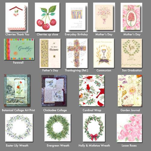 Trad card archive