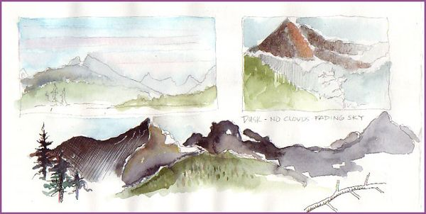 Nature Journaling In The North Cascades Demonstrations By
