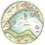 Circular map small