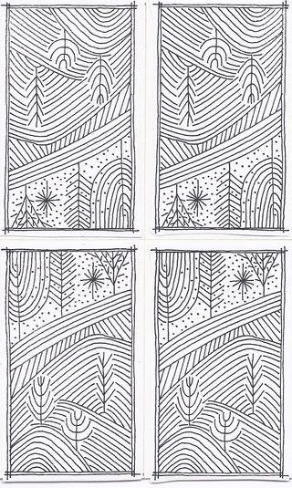Quad linework