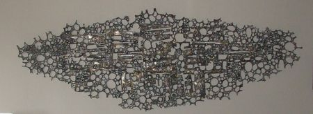 Wall piece abstract