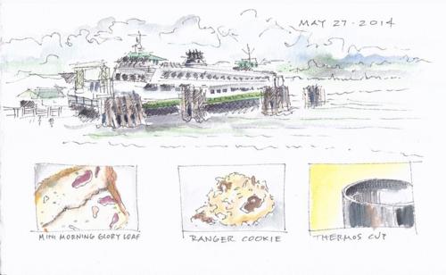 Ferry sketch