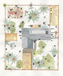 Yard map wildlife