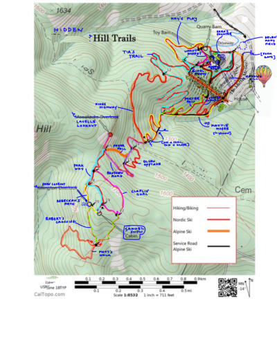 Map sample overlayobs